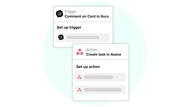 Connect Guru and Asana with Zapier