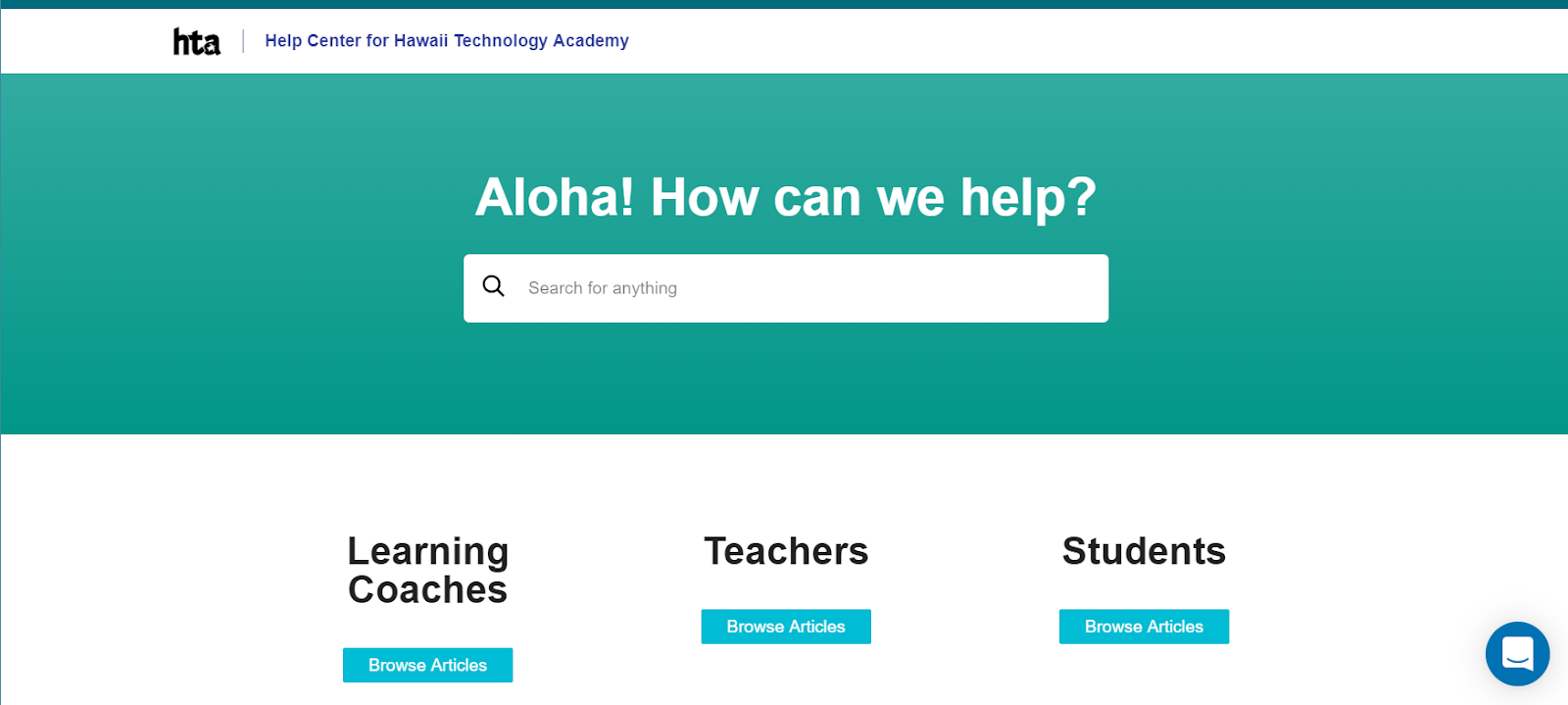 Guru + Hawaii Technology Academy