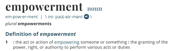 sales empowerment over sales enablement