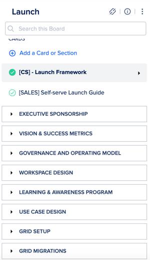 Slack CS Launch framework