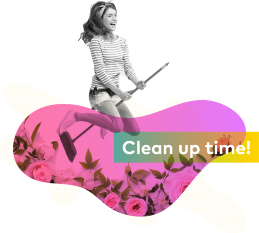 Easy knowledge base clean up