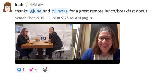 Video conference platform: Zoom